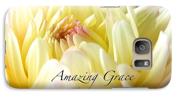 Galaxy Case featuring the photograph God's Amazing Garden by Margie Amberge