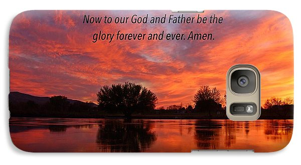 Galaxy Case featuring the photograph God's Glory by Lynn Hopwood