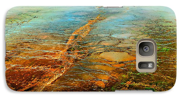 Galaxy Case featuring the photograph God's Winter Thermals by Yeates Photography