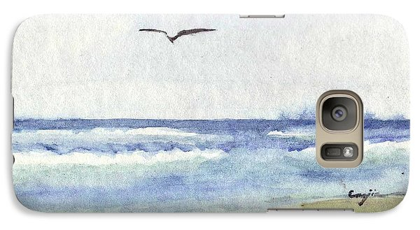 Galaxy S7 Case featuring the painting Goelan Atlantique by Marc Philippe Joly
