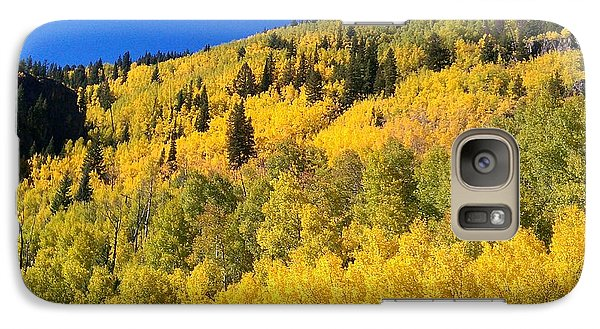Galaxy Case featuring the photograph Going Gold by Fortunate Findings Shirley Dickerson