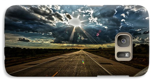Galaxy Case featuring the photograph Going Home by Brian Duram