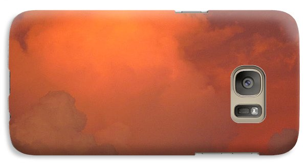 Galaxy Case featuring the photograph Going Out With A Boom by Elizabeth Carr