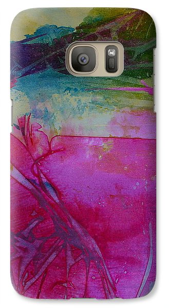 Galaxy Case featuring the painting Going Tropical by Mary Sullivan