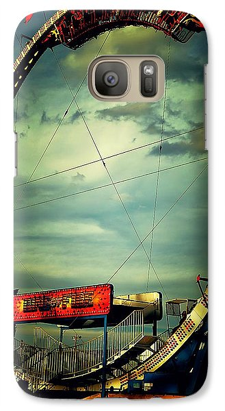 Galaxy Case featuring the photograph Going Upside Down by Beth Akerman
