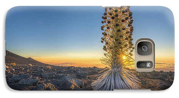 Galaxy Case featuring the photograph Gold And Silver by Hawaii  Fine Art Photography
