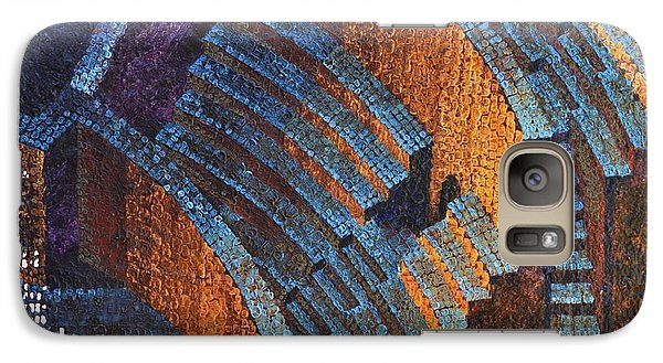 Galaxy Case featuring the painting Gold Auditorium by Mark Howard Jones