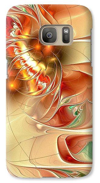Gold Fish Galaxy S7 Case