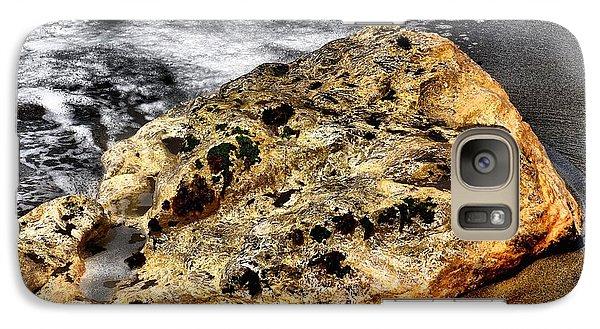 Galaxy Case featuring the photograph Gold Flecks by Bob Wall