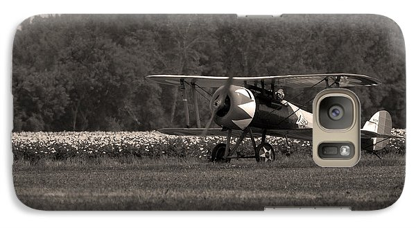 Galaxy Case featuring the photograph Golden Age Of Aviation 1 by Timothy McIntyre