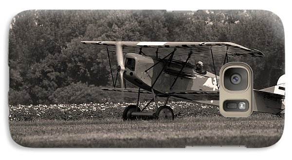 Galaxy Case featuring the photograph Golden Age Of Aviation 2 by Timothy McIntyre