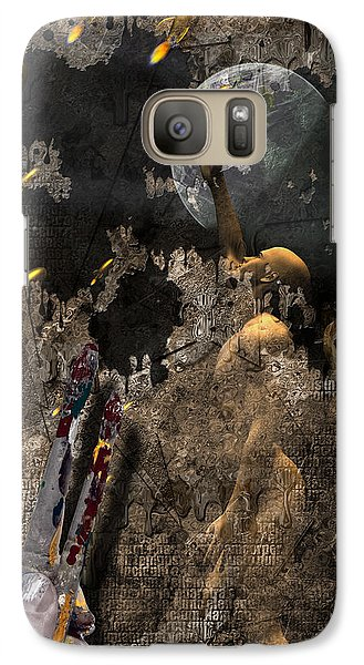 Galaxy Case featuring the digital art Golden Age Of Sci Fi by Bruce Rolff