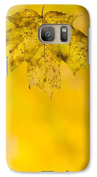 Galaxy Case featuring the photograph Golden Autumn by Sebastian Musial