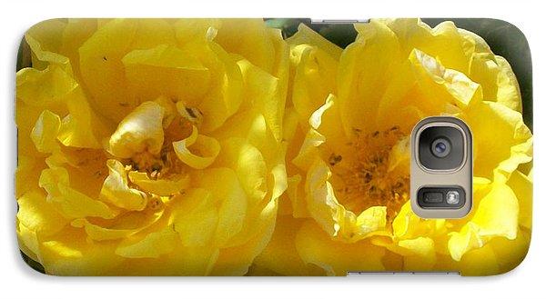 Galaxy Case featuring the photograph Golden Beauty by Jewel Hengen