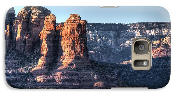 Galaxy Case featuring the photograph Golden Buttes by Lynn Geoffroy