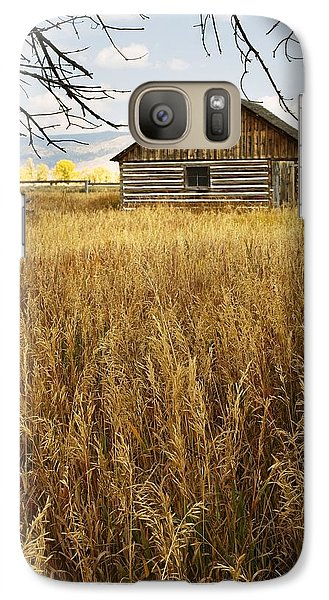 Galaxy Case featuring the photograph Golden Cabin by Sonya Lang