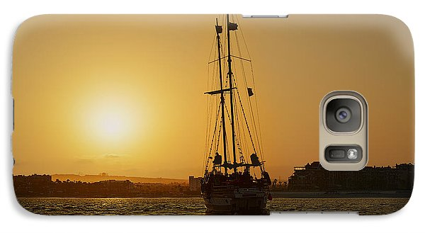 Galaxy Case featuring the photograph Golden Cabo Sunset by Christine Till