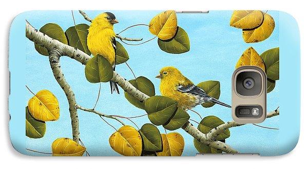 Finch Galaxy S7 Case - Golden Days by Rick Bainbridge