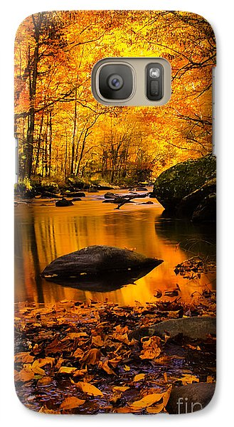 Galaxy Case featuring the photograph Golden Dream by Geraldine DeBoer