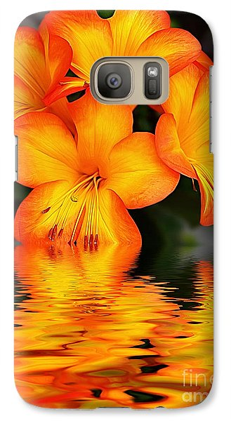 Golden Dreams Galaxy S7 Case by Kaye Menner