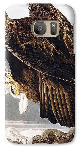 Golden Eagle Galaxy S7 Case by John James Audubon
