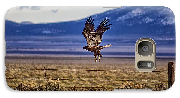 Galaxy Case featuring the photograph Golden Eagle by Michael Rogers