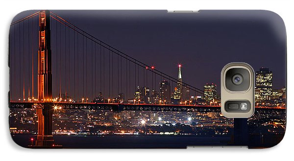 Galaxy Case featuring the photograph Golden Gate 35mm Frame by Christopher McKenzie