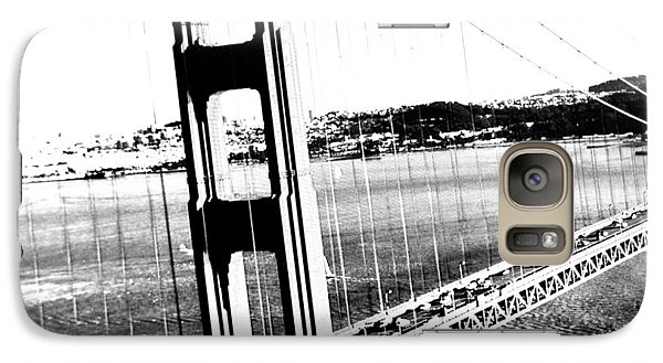 Galaxy Case featuring the photograph Golden Gate by Amy Giacomelli