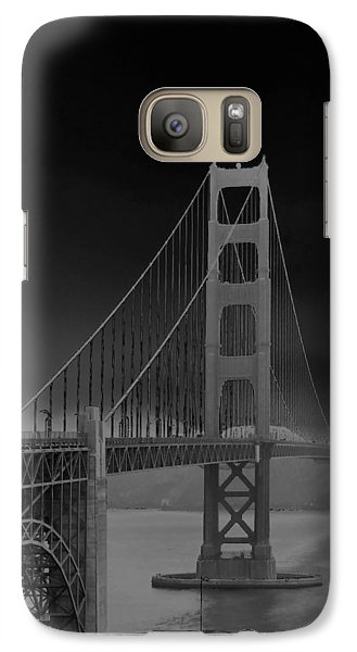 Galaxy Case featuring the photograph Golden Gate Bridge To Sausalito by Connie Fox