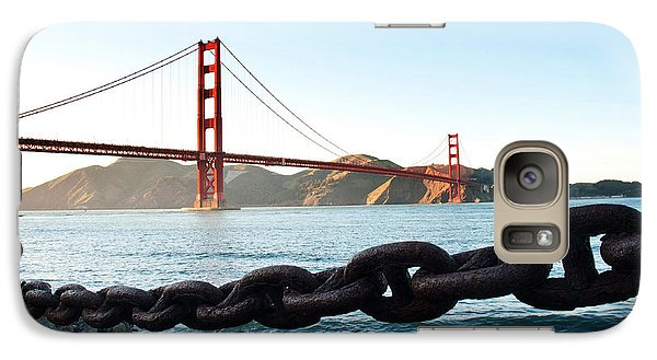 Golden Gate Bridge With Chain Galaxy S7 Case