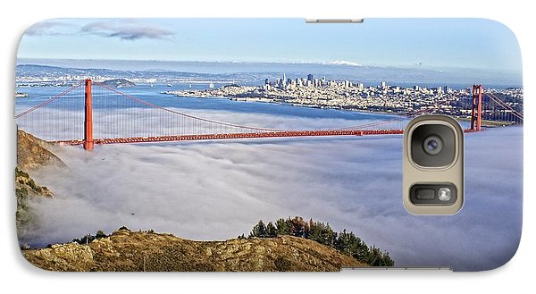 Galaxy Case featuring the photograph Golden Gate by Dave Files