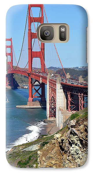 Galaxy Case featuring the photograph Golden Gate by Gina Savage