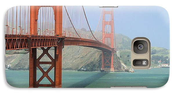 Galaxy Case featuring the photograph Golden Gate by Steven Bateson