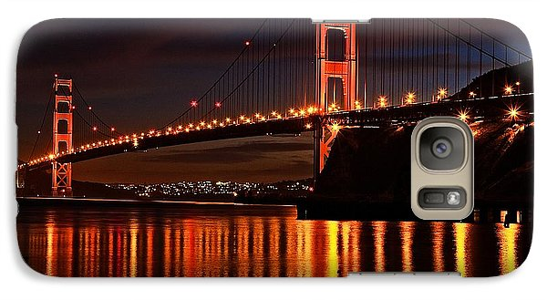 Galaxy Case featuring the photograph Golden Glory by Dave Files