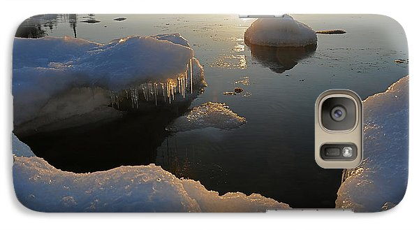 Galaxy Case featuring the photograph Golden Glow by Sandra Updyke