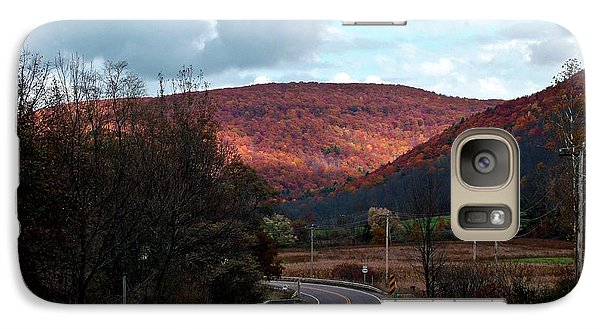 Galaxy Case featuring the photograph Golden Hills Of Autumn by Christian Mattison