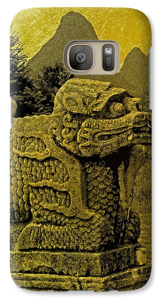 Galaxy Case featuring the photograph Golden Image by Nigel Fletcher-Jones
