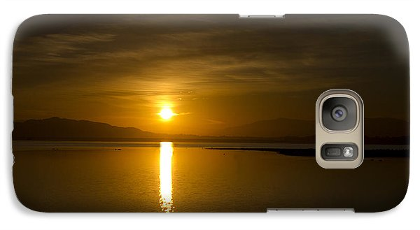 Galaxy Case featuring the photograph Golden Morn by Richard Stephen