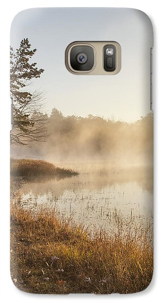 Galaxy Case featuring the photograph Golden Morning by Yelena Rozov