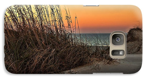Galaxy Case featuring the photograph Golden Oats by Laura Ragland