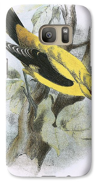 Golden Oriole Galaxy S7 Case