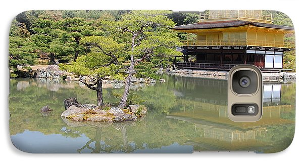 Galaxy Case featuring the photograph Golden Pavilion by Jonah  Anderson