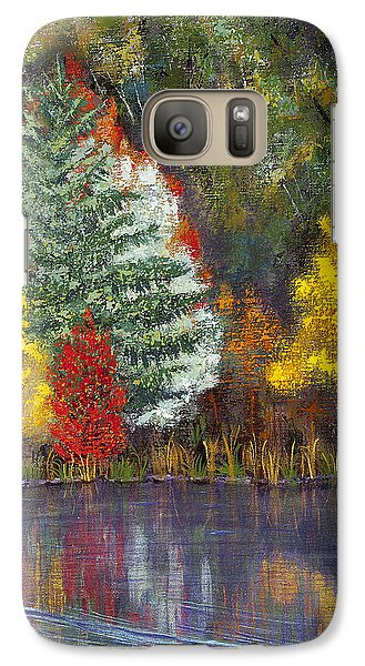 Galaxy Case featuring the painting Autumn Tapestry by Margaret Bobb