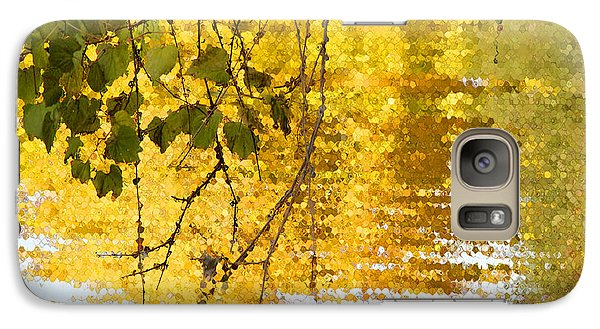 Galaxy Case featuring the photograph Golden Reflections by Mariarosa Rockefeller