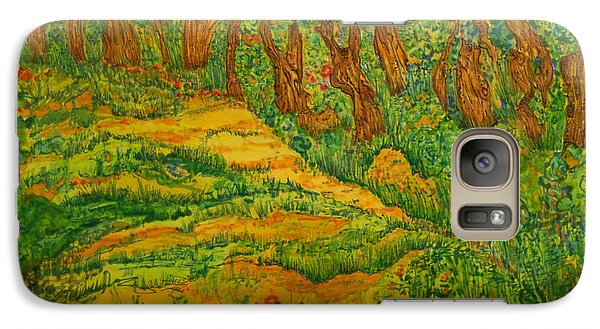 Galaxy Case featuring the painting Everyday-a New Beginning by Susan D Moody