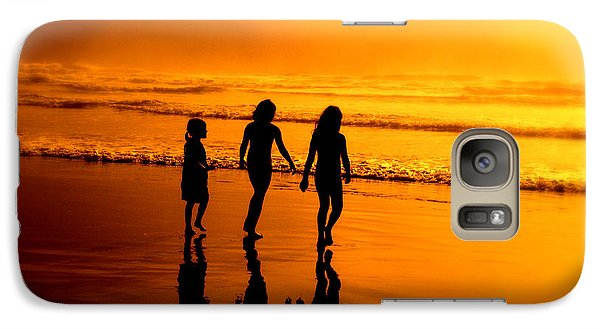 Galaxy Case featuring the photograph Golden Sands  by Micki Findlay