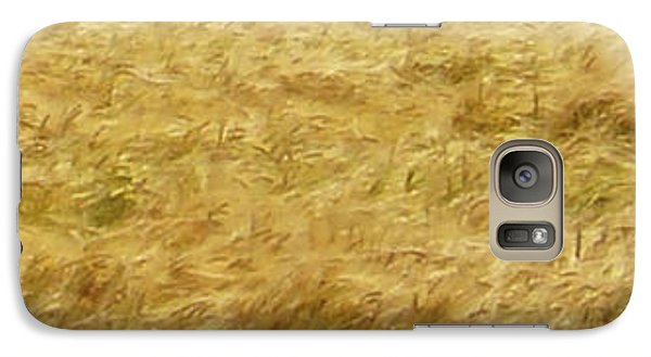 Galaxy Case featuring the photograph Golden Sea by Michael Dohnalek