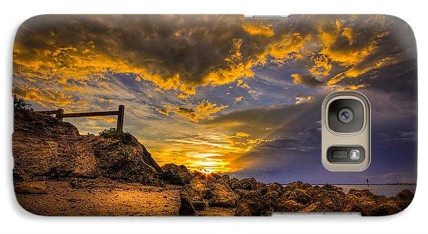 Golden Shore Galaxy S7 Case