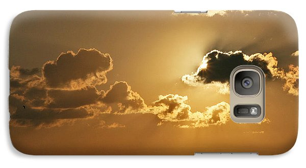 Galaxy Case featuring the photograph Golden Sunrise by Joan McArthur