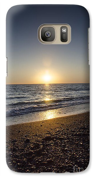 Galaxy Case featuring the photograph Golden Sunset2 by Bruno Santoro